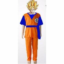 Disfraz Goku Dragon Ball Z Varios Talles
