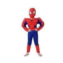 Disfraz Musculos Hombre Araña Spiderman Importado Envios