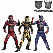 Disfraz Musculos Transformers Licencia Original Bumblebee