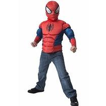 Disfraz Spiderman Marvel Original - Con Músculos!!