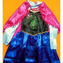 Disfraz De Anna De Frozen - Hermoso!!!