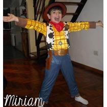 Disfraz Woody, Capitán América,hombre Araña,batman,etc