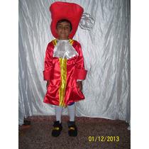 Disfraz De Garfio De Jake Y Los Piratas Del Nunca Jamas