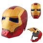 Casco Ironman Articulado, Completo Con Luz! Iron Man, Hulk