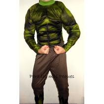 Disfraz Infantil De Hulk Con Músculos!!!