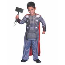 Disfraz Thor Con Martillo Thor Licencia Local Avengers