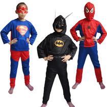 Disfraz De Batman, Superman, Hombra Araña, Goku
