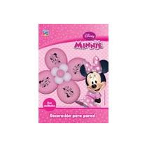 Minnie Globos Flor Dos Deco Cumple Mouse Mickey Tematica