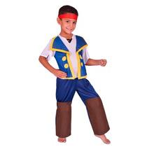 Disfraz Jake Y Los Piratas Original Talle 1 Env Gratis Caba