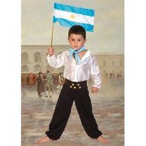 Disfraz De Gaucho Para Niños Talle 4