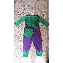 Disfraz De Hulk (enterito)
