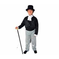 Disfraz De Caballero Talla O Al 4. Con Pantalon Negro
