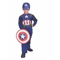 Disfraz Capitan America Original New Toys