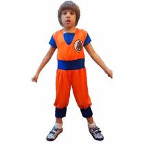 Disfraz Goku Dragon Ball Z Artesanal Talle 5 / 6 Años