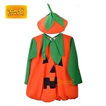 Disfraz De Calabaza Para Halloween Para Niños