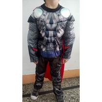 Disfraz Musculos Thor Niño Importado Envios A Todo El Pais