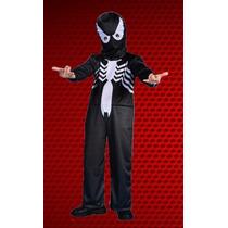 Disfraz Spiderman Negro Hombre Araña Original New Toys