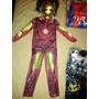 Disfraz Traje De Iron Man Con Mascara Importados! Miralo!