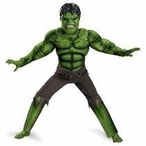 Disfraz El Increible Hulk Con Musculos Orig Marvel 12 Cuotas