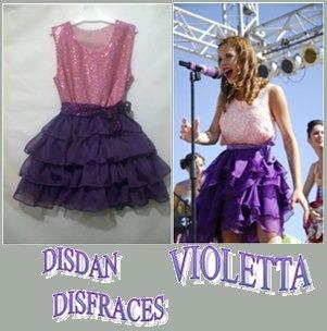 Disfraz De Violetta!!