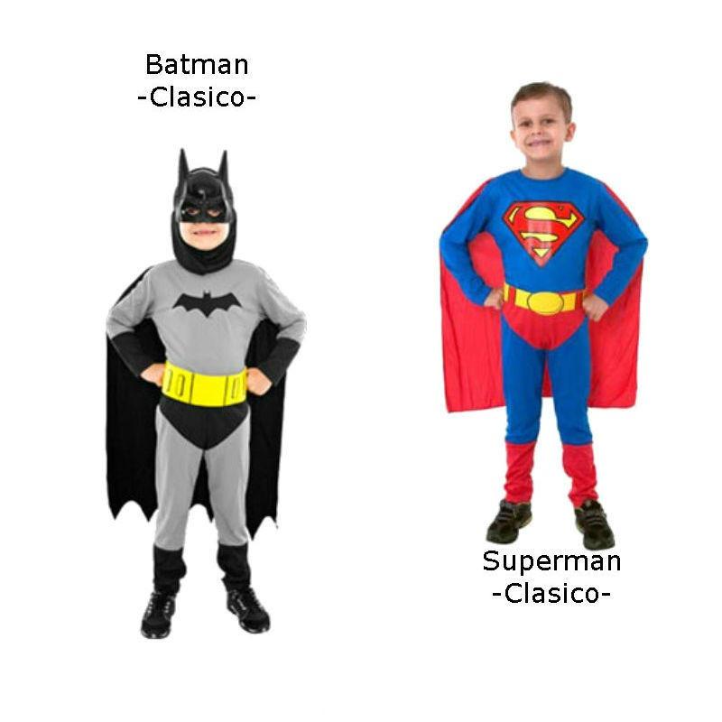Disfraz Superman Musculoso Disfraz Nene Batman Superman
