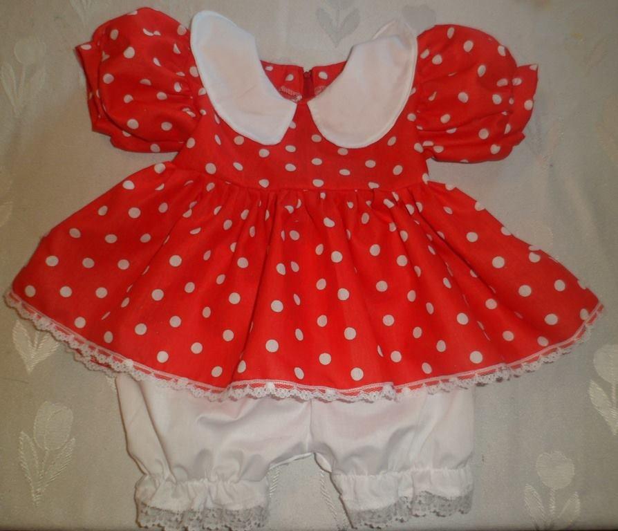 Disfraz Vestido Minnie Mouse + Vincha De Regalo - $ 250,00 en ...