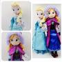Muñecas Peluche Anna Y Elsa Frozen 50 Cm Gigante Disney