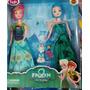 Pack Muñecas Disney Frozen Elsa + Anna + Olaf Frozen Fever