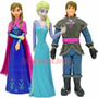 Frozen Elsa Y Anna Plástico Blister Torta O Jugar Kierouno