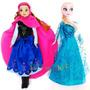 Muñecas Frozen Elsa O Anna Articuladas 30 Cm Película Disney