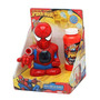Marvel Kids Spiderman Spidey Strikes Bubbles Electronico!!!