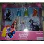 Disney Parks Set De 7 Figuras De La Bella Durmiente Unico!!!