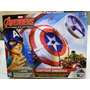 Avengers Age Of Ulton Capitan America Escudo Lanzador Unico!