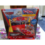 Disney Pixar Cars 2 Juego Finish Line Frenzy+mc Queen Unico!