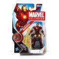 Marvel Universe Figura De Iron Man Mas Codigo Secreto!