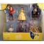 Disney Parks Set 7 Figuras De La Princesa Bella Y La Bestia!