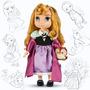 Princesa Disney Animators Muñeca Aurora La Bella Durmiente