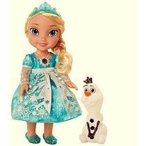 Muñeca Frozen Elsa Original Luminosa Y Habla