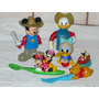 Muñecos Disney Mc Donalds Mickey Minnie Pooh