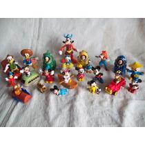 Lote De Muñecos De Personajes De Disney