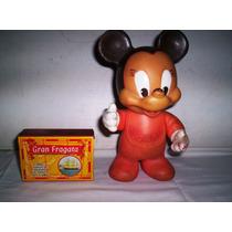 Antiguo Sobrino De Mickey En Plastisol De 23 Cm.