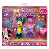 Minnie Mouse Fisher Price - Set De Vestuario Rock Nuevo