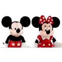 Peluches Mickey + Minnie 73 Cm, Hablan Con Su Voz Original!