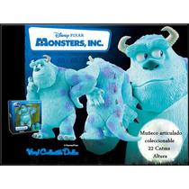Monster Inc. Sulley Figura Artcda De 22cntms Disney Original