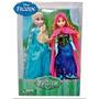 Muñeca Frozen Elsa Y Ana 30cm De Alto En Caja En Belgrano