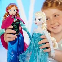 Princesa Disney Frozen Elsa O Anna Original Mide 30 Cm