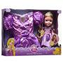 Princesa Muñeca Rapunzel Y Disfraz - Disney Princess