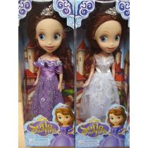 Princesita Sofia The First Muñeca 26 Cm Con Corona