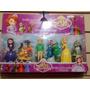 Blister Muñecos Princesa Sofia Disney Para Colección O Torta