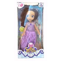 Muñeca Articulada Princesa Princesita Sofia Disney 35y45 Cm